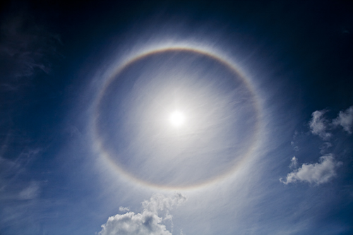 Rainbow Around the Sun by Michael Orhelein