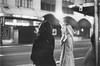 (Zayne Savall) Tags: life street new leica york city ny blur film night hair paper square kodak cab taxi hc110 iso nighttime blonde late macys times brunette m3 ilford jackets classy 6400 tmz summarit pearle hailing p3200