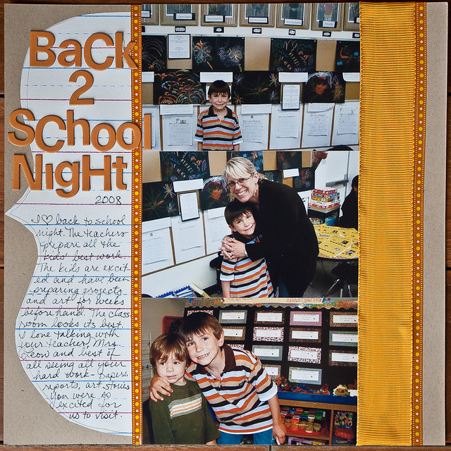 Day 18 - Back 2 School Night