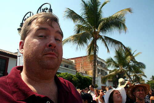 Puerto Vallarta - City and Tropical Jungle Escape Tour - Mike's Early Skeptical Face