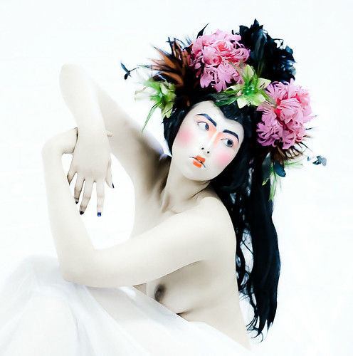 Porcelain Geisha by Toni Wallachy