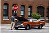 Stopped on Sunday Morning (swanksalot) Tags: car vintage 50mm strangers 1972 cutlass swanksalot sethanderson 72cutlass