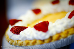 Grit Pie (Tim Jones Photography) Tags: pictures friends people food white texture smile cake pie photography book baking lemon photographer good great smooth smiles lot strawberries visit governor autograph patsy signing governess patsyrileyfirstladyalabamacakespiesfood