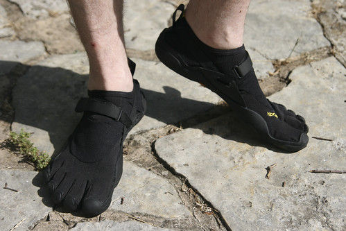 Tim's New Vibram Five Fingers