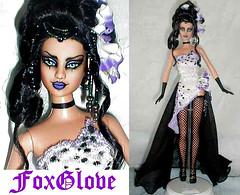 foxglove  gothic Barbie (plumaluna07@sbcglobal.net) Tags: vampire ooak gothic barbie