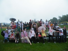 group photo 1 (Michelle Souliere) Tags: portland maine 2009 hill east eastern prom end zombie zkiii kickball munjoy