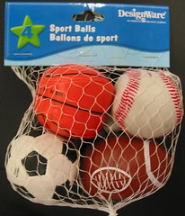 Recalled mini sports balls