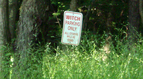 20090705 - X-Day - GEDC0379 - Witch parking only - All others will be toad - please click through to leave a comment on FlickR