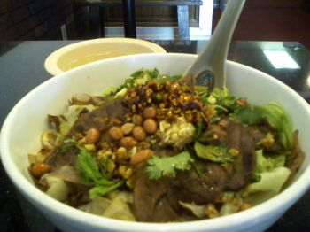 Dandan Hot and Sour Beef Soup