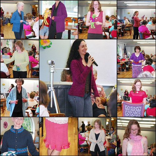 Twist Collective Fashion Show at the Tigard Knitting Guild