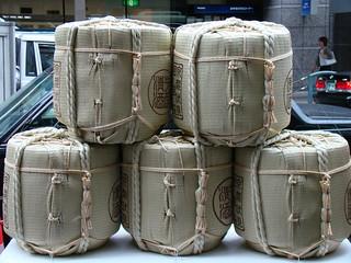 Yoiyama- Donated Sake Casks