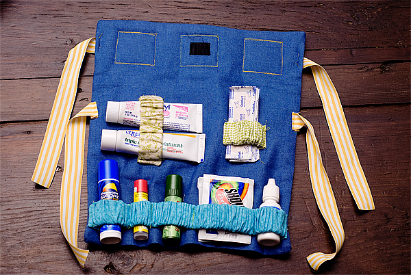 outdoor care kit inside finished