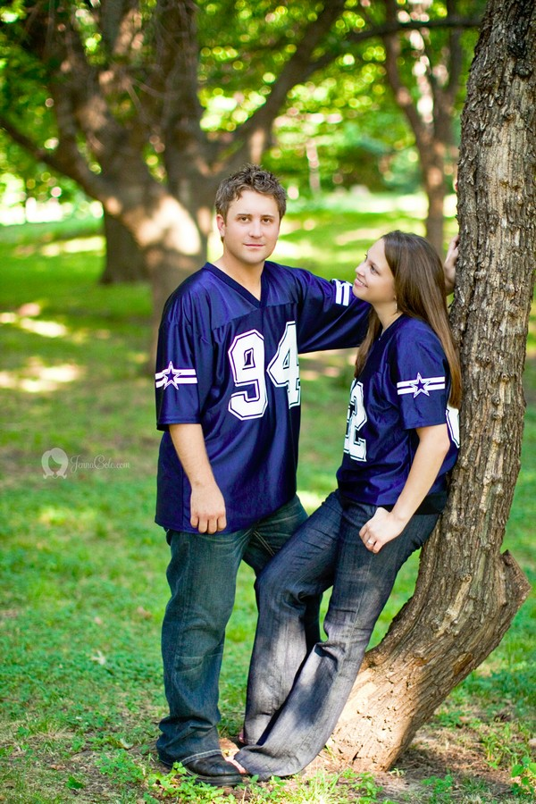 Dallas Cowboy Jersey Engagement
