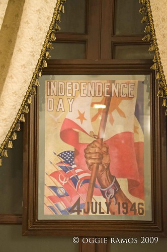 malacanang quirino room independence day poster