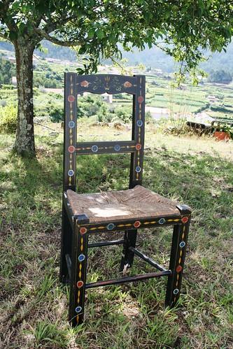 uma cadeira alentejana no norte de Portugal