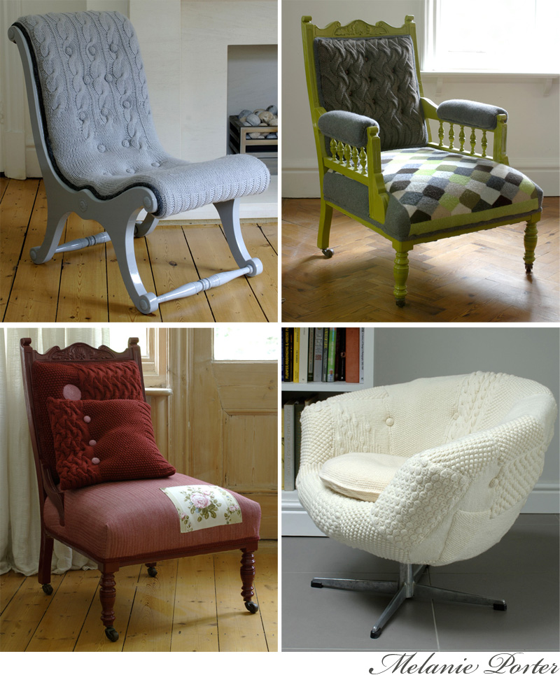 Melanie Porter: Knit Chairs