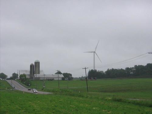 Sheldon hills wind turbine