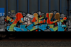 Cozy (All Seeing) Tags: graffiti six jeb allseeing goldenwestservice sixr
