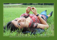 7201 o (bhumeshbharti) Tags: girl face grass fashion lady 50mm model portfolio dehradun bharti uttarakhand abhilasha bhumesh bhumeshbharti