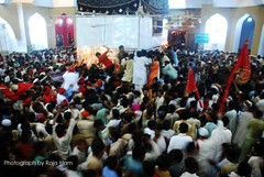 Lal Shahbaz Qalandar Urs celebrations kick off today (Raja Islam) Tags: pakistan red festival shrine islam celebration 2009 sind sindh islamic lal urs mazar sehwan qalandar lalshahbazqalandar sehwansharif