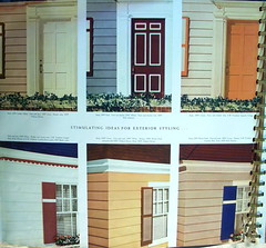 Sherwin Williams Paint and color Style Guide (JAVA1888) Tags: door house color window paint exterior williams style front 1940s guide 1941 sherwin