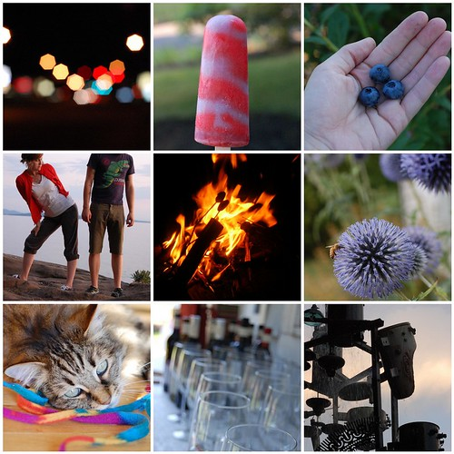 Summer in Pictures Mosaic