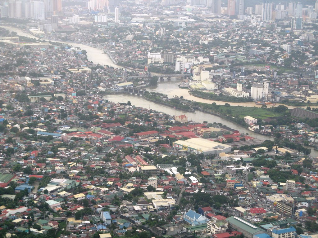Manila from above