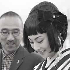 Takako Tokiwa 常盤貴子 at the Grand Opening of New People, The Store