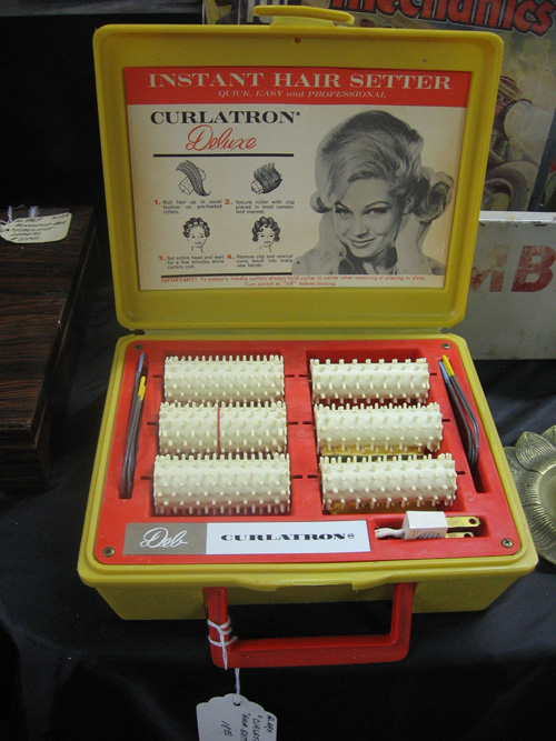 Vintage hair setters
