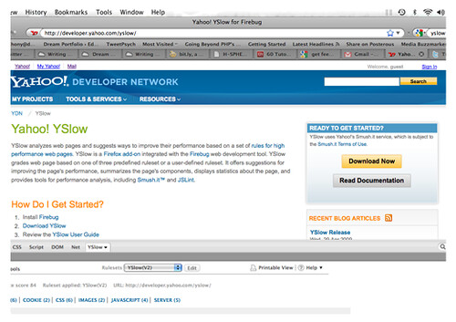 Yahoo! YSlow for Firebug2