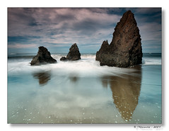 A Time for Reflection (Tony Immoos) Tags: ocean california longexposure sky cloud reflection water rock clouds wow landscape movement surf pacific wide wideangle olympus explore marincounty e3 frontpage seashore 1000views californialandscape printsavailable zd nd8 ndgrad 1260mm olympuse3