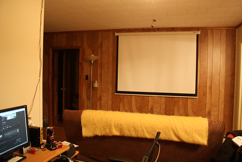 Projector Screen (by caitysparkles)
