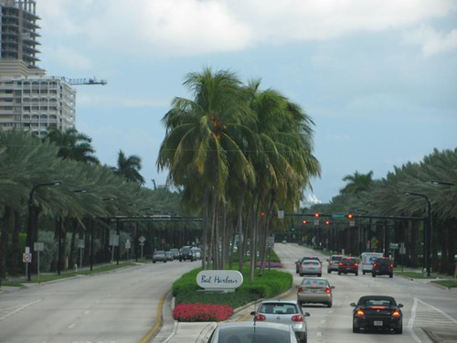 ritzy area of South Beach