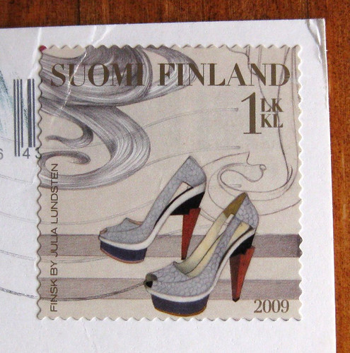 High heels from Finland