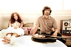 """Break Up"" photo shoot with Pete Yorn & Scarlett Johansson"