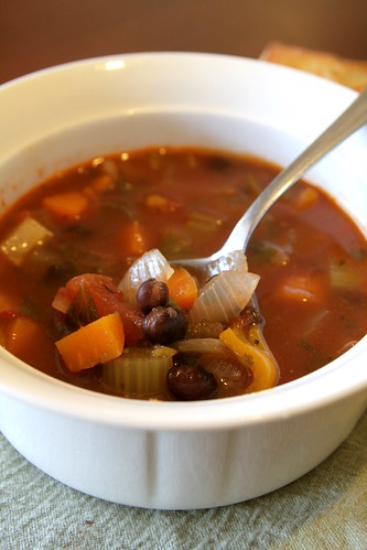 black bean soup 013