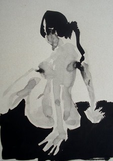 China ink 01 - Aliona, the model