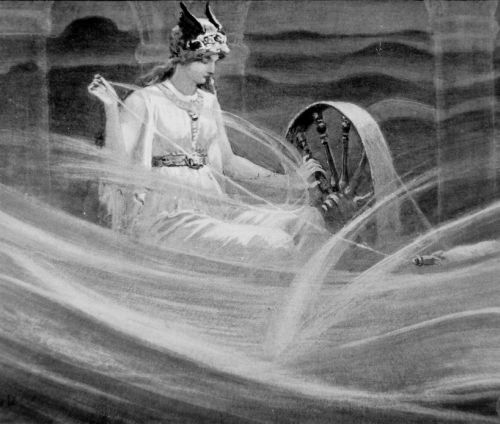 frigga spinning the clouds...