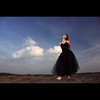 Ballet Dancer (K3m.) Tags: ballet woman sun girl clouds canon eos dance dress desert dancer flashlight słońce taniec dziewczyna chmury balletdancer kobieta k3m 50d suknia sukienka pustynia strobist ex580ii k3em pocketwizardtransceiverplusii seppedlight efsf35561855mmis marcιη