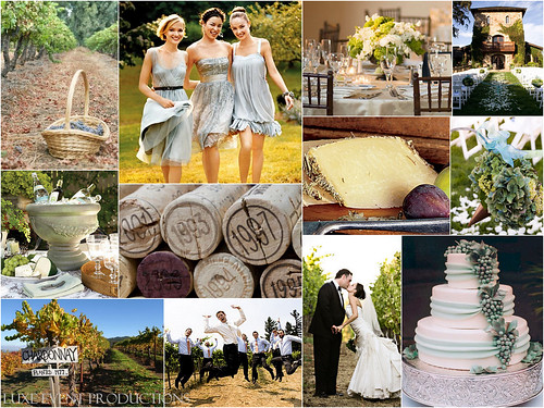Luxe Style :: Wedding Inspiration Board :: 2009 Oregon Harvet & Crush Series