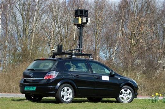 구글 스트리트 뷰 촬영용 차량