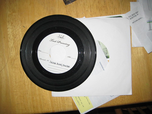 Anchor Arms/The Anchor test pressing