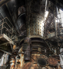Hochofen 5 (rawshooter72) Tags: detail canon eos rust industrial factory decay steel landschaftspark duisburg hdr nord hdri photomatix tonemapped 1000d