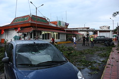 Tornado en San Cristóbal