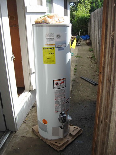 New hot water heater - ready to install