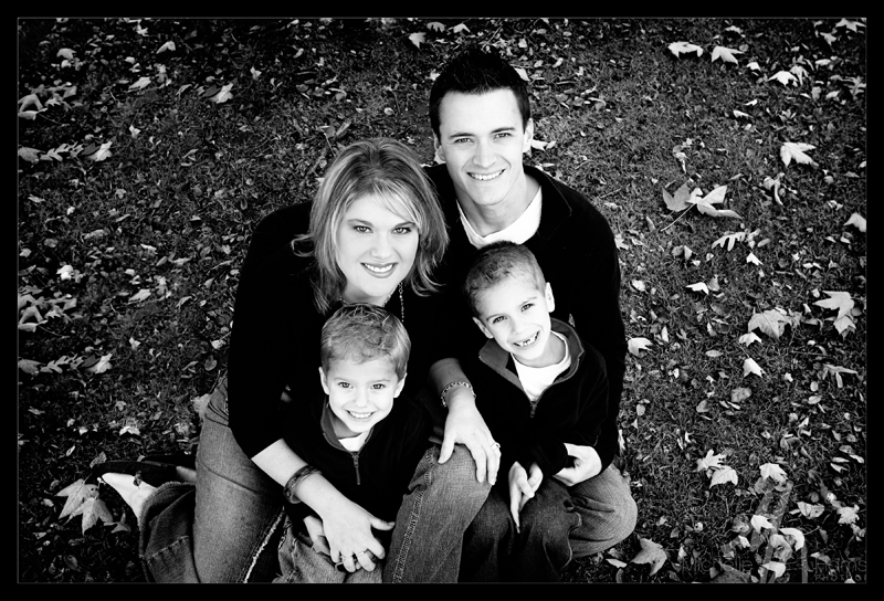 Richards family 1 bw blog