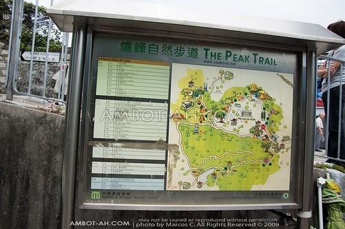 Victoria Peak Map