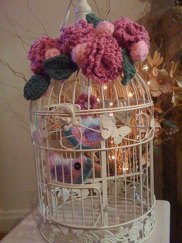 Decorative Bird Cage.
