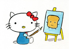 Hello Kitty Artist