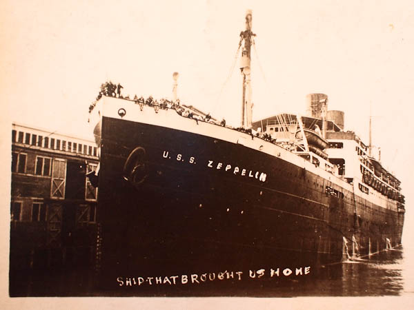 """""""The Ship That Brought Us Home"""""""